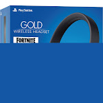 Sony PlayStation 3004675 Sony PlayStation Fortnite Neo Versa Gold Wireless Headset - Jet Black