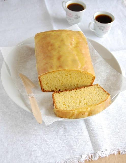 Tangerine butter cake / Bolo amanteigado de tangerina