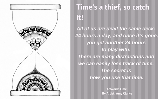 Time's a thief, so catch it! | ArtSHINE Licensing