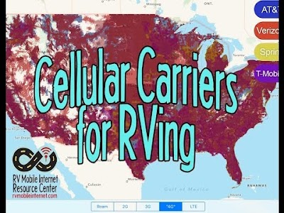 Technomadia videos: The Best Cell Coverage for RVers, Free & Cheap RV Camping Options