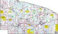 Vilas County Snowmobile Trail Map, View Vilas County Trail Map, Vilas County Snowmobile Trail Map