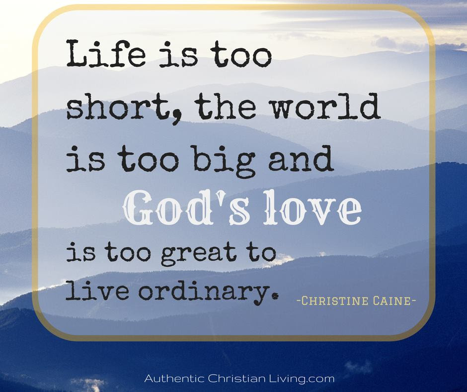 Authentic Christian Living Growing Together To Live Authentically