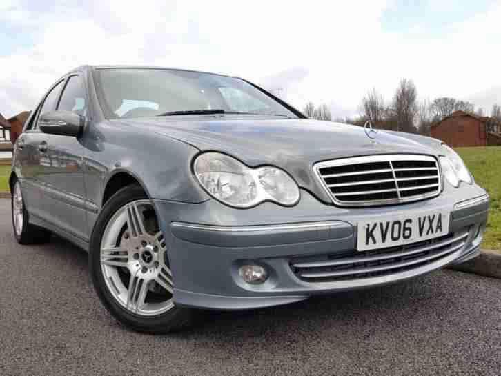 Mercedes Benz 2006 C Class 2.1 C220 CDI Avantgarde SE 4dr ...