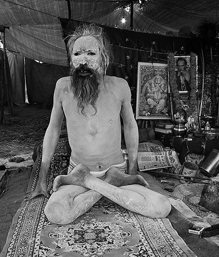 Naga Babas Tantric Yoga  Maha Kumbh by firoze shakir photographerno1