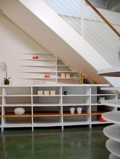 under stair shelving ideas for small space
