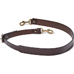Filson Wide Leather Shoulder Strap - Brown - M