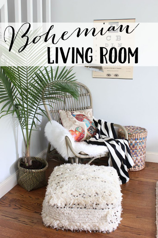 Bohemian Living Room - Lauren McBride