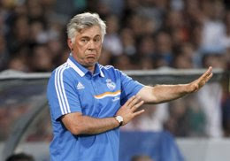 """Foto: Carlo Ancelotti: """"Bale tiene un dinamismo excepcional, sin duda le irá bien""""  (ROBERT PRATTA / REUTERS)"""