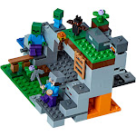 LEGO Minecraft The Zombie Cave Building Bricks with Minecraft Characters and Zombie Figures 21141