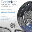 Denimizer - Your Text and Objects, in Jeans
