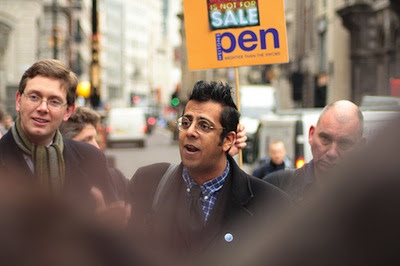 Simon Singh at the Royal Courts of Justice