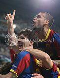 FC Barcelona's Triumph at Bernebeu in Pics