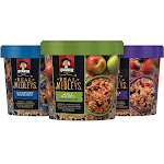 Quaker Real Medleys Instant Oatmeal Variety Pack - 12 count