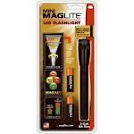 "Maglite Sp2201h Led Mini Flashlight With 4-function, 2 ""aa"", Black"