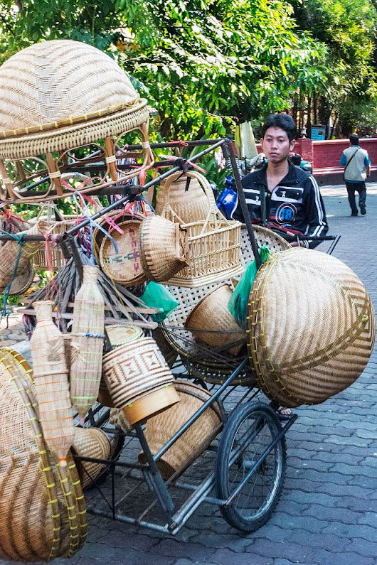 The Basket Seller by  on YouPic