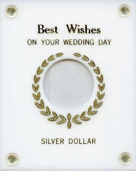 """Capital Plastics """"Best Wishes on your Wedding Day"""" Silver"""