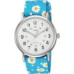 Timex Women's Weekender Floral Reversible Watch - Blue