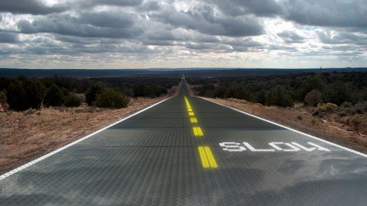 Solar Roads | Greg's Green Living - Articles & Products for Living a Greener Life