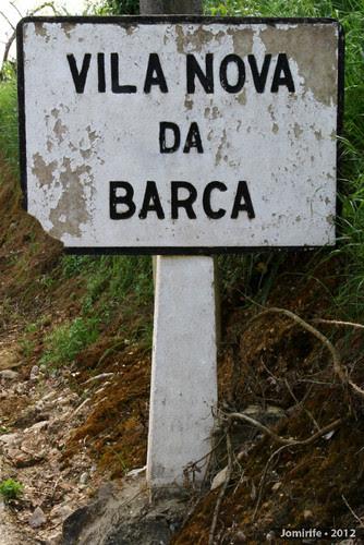 Placa antiga de Vila Nova da Barca (Coimbra) (2)