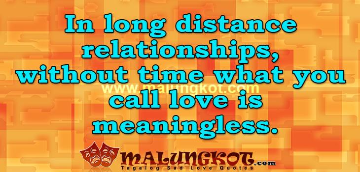 Distance Tagalog Sad Love Quotes