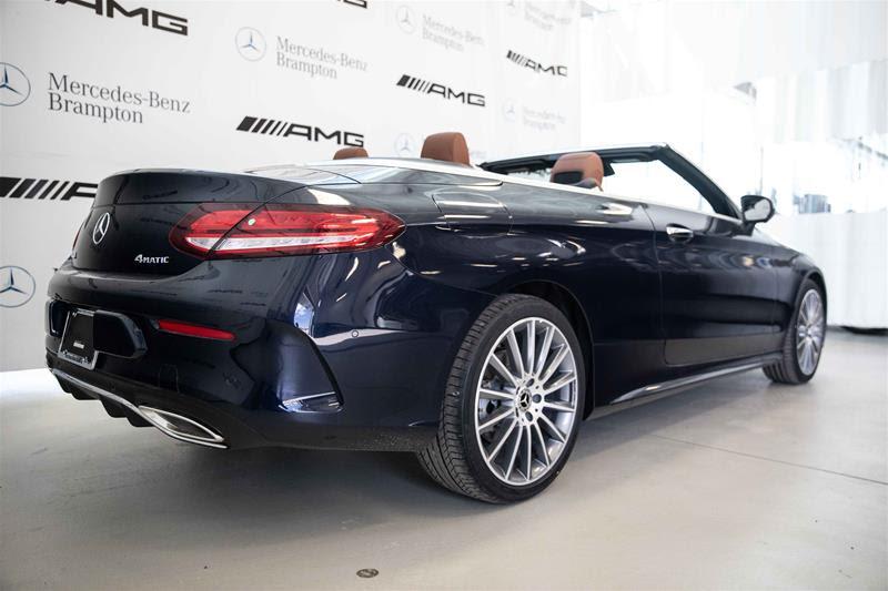 New 2020 Mercedes-Benz C-Class C300 Sport 4MATIC Cabriolet ...