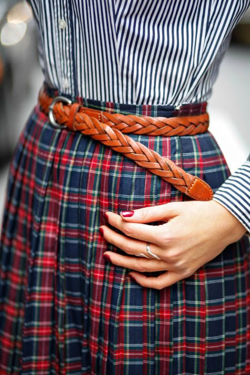 #Plaits, #Pleats, And #Plaid by The Classy Cubicle