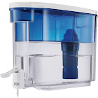 PUR Water Filtration System 18 Cup Dispenser, White & Blue
