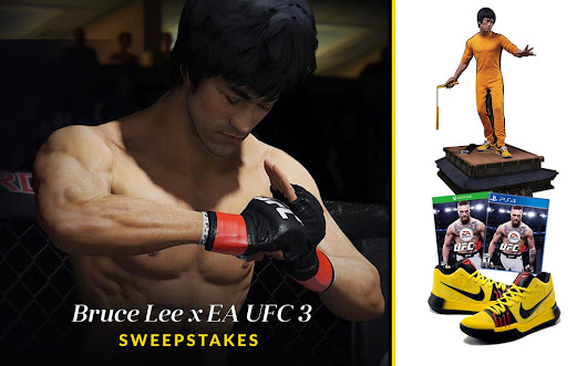Bruce Lee x UFC 3 Sweepstakes
