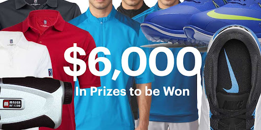 Underpar $6,000 Golf Products Contest | Shopping Parrot