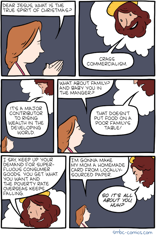 Saturday Morning Breakfast Cereal - Christmas Spirit