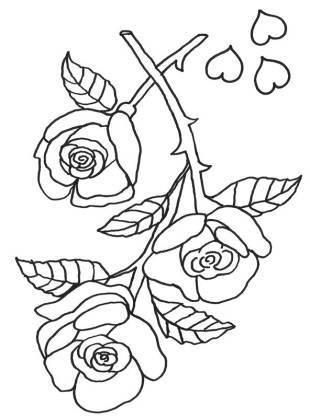 malvorlagen rosen poland