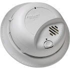 First Alert 9120B Hardwired Smoke Alarm With Battery Back Up, White