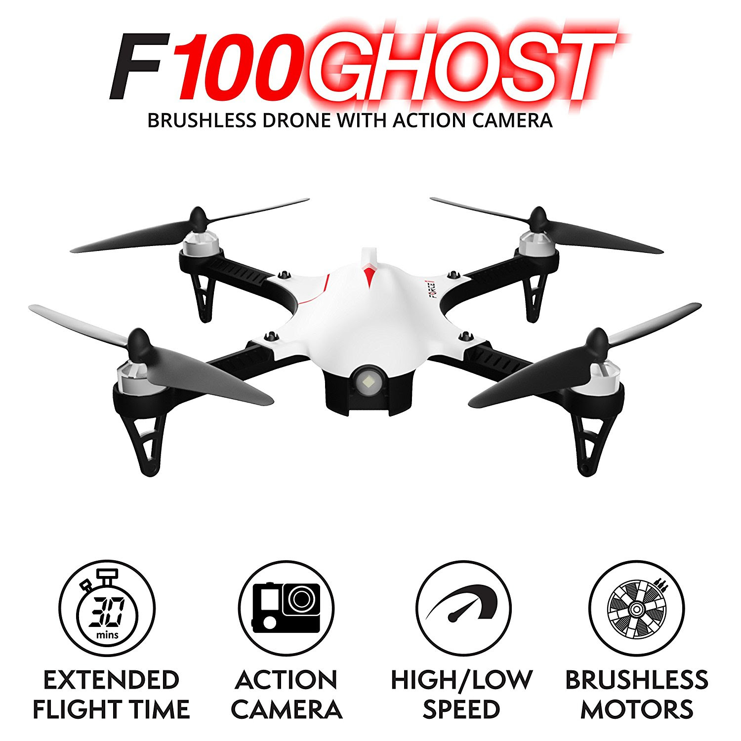 F100 Ghost Rc Quadcopter Drone Archives Epic Kids Toys