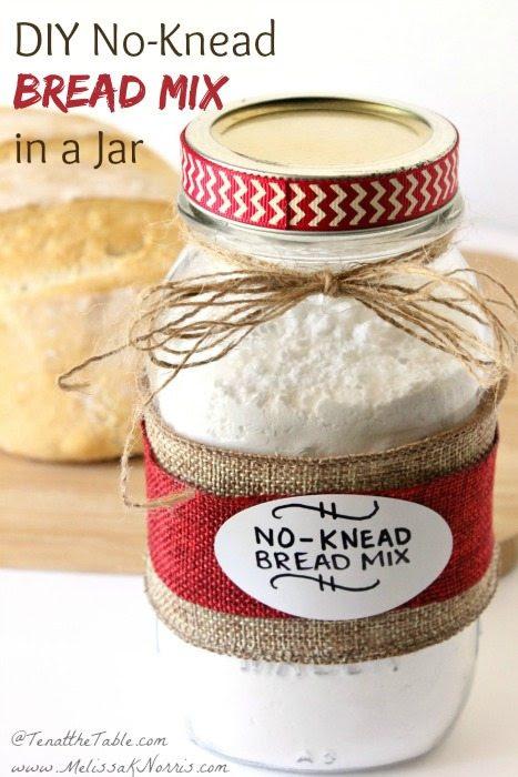 DIY No-Knead Bread Mix in a Jar Recipe | Melissa K. Norris