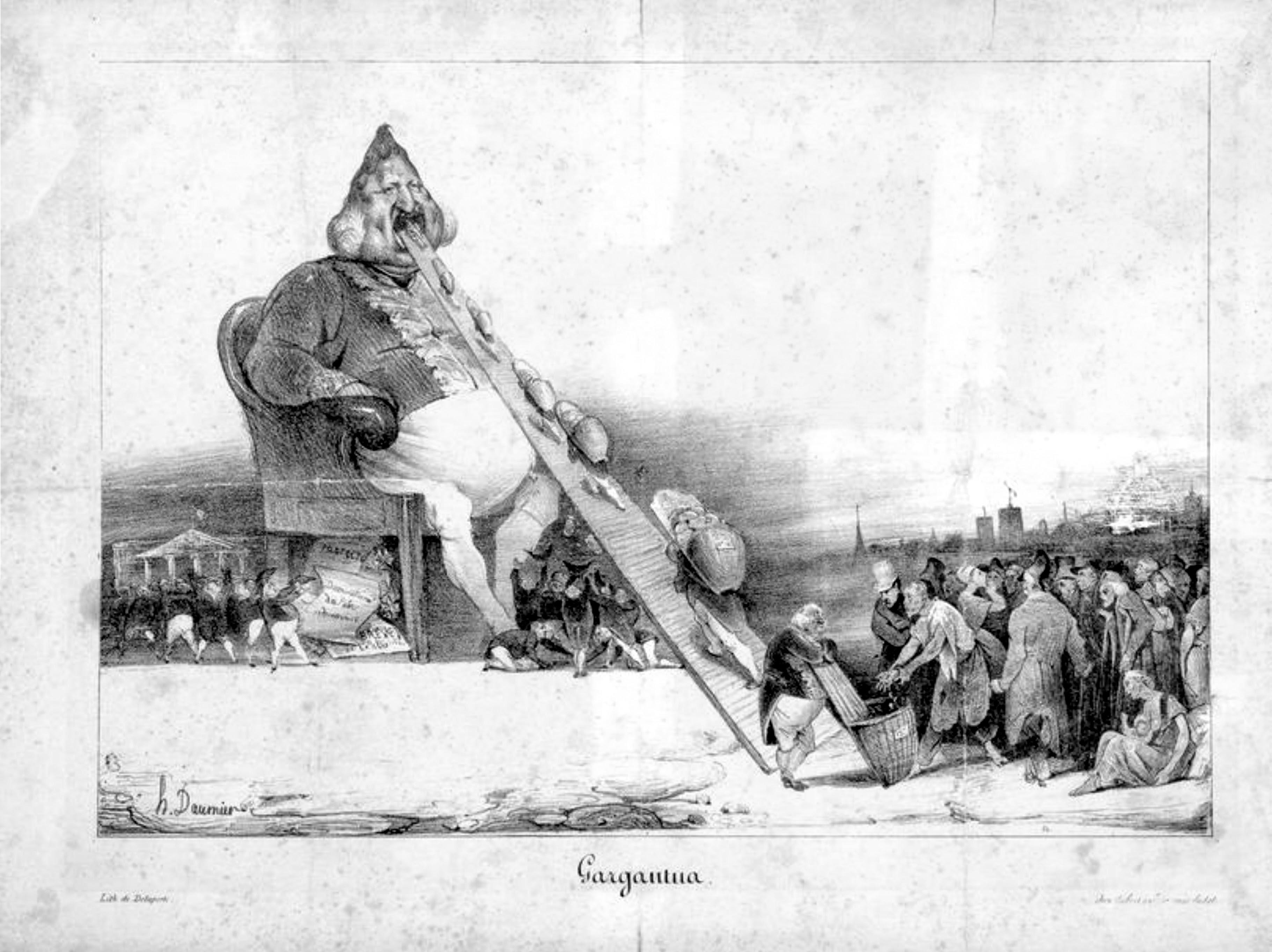 Image:Honoré Daumier - Gargantua.jpg