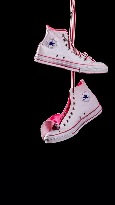 misc iphone   wallpapers hanging converse white
