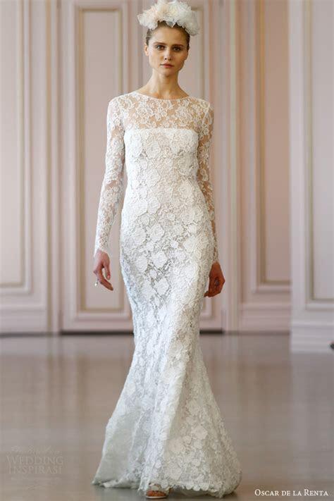 Oscar de la Renta Bridal Spring 2016 Wedding Dresses