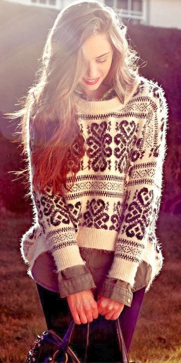 Very comfy sweater for fall fashion