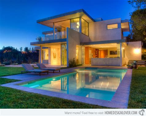 lovely swimming pool house designs decoration  house