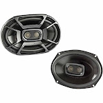 6x9 Coaxial Speakers- Black Polk DB692