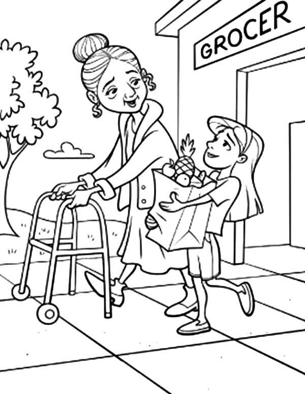 Helping Drawing at GetDrawings | Free download