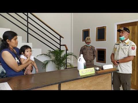 Sosialisasi dan Penyemprotan Disinfektan di Hotel & Penginapan, Cegah Virus Corona (Covid-19)