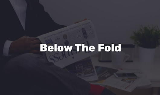Going Below the Fold: Make Your Website Homepage Desing Better