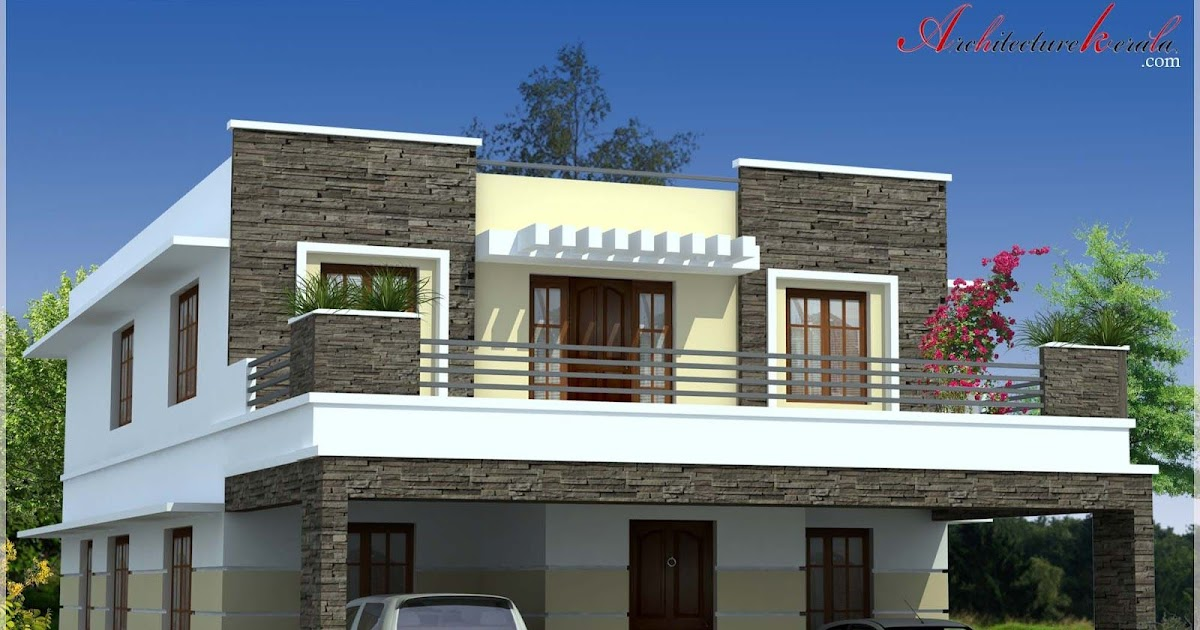 Kerala Style Modern House Plans And Elevations Front Design