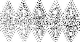 Sketsa Batik Palembang