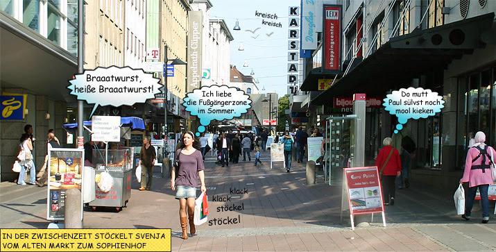 Svenja Fußgängerzone Kiel