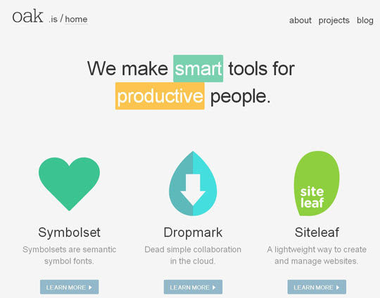 3.flat websites Beautiful Examples Of Flat Web Design