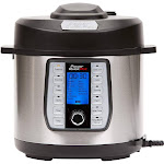 Tristar Products Power Quick Pot 8 qt 37 - in -1 Multi- Use Programmable Pressure Cooker, Slow
