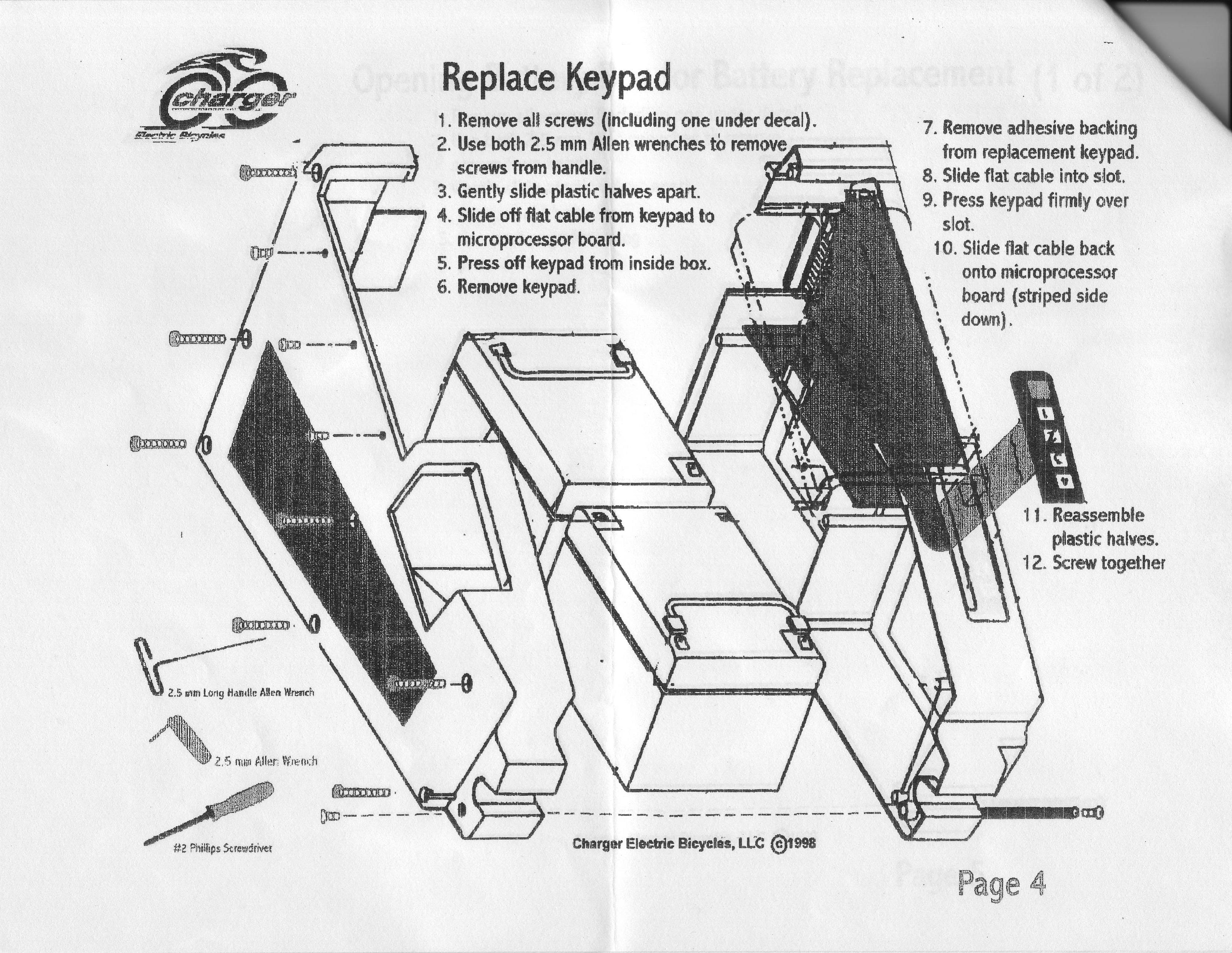 Lazer Moped Wiring Diagram