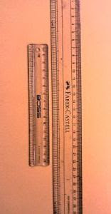 scales for measuring JVP